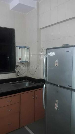 Kitchen Image of 1000 Sq.ft 2 BHK Apartment for rent in Thane West for 26000