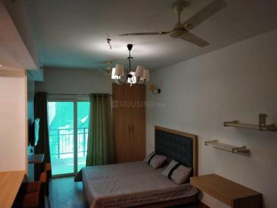 Gallery Cover Image of 506 Sq.ft 1 RK Apartment for rent in Nimbus The Golden Palm Village, Yeida for 13500