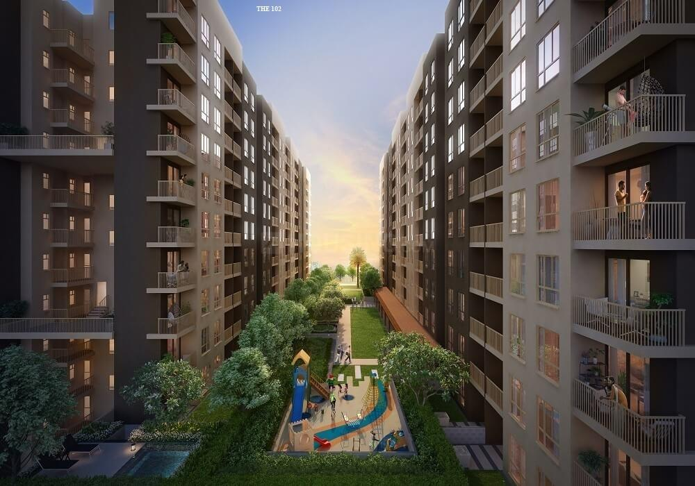 Building Image of 550 Sq.ft 2 BHK Apartment for buy in Pailan for 3400000