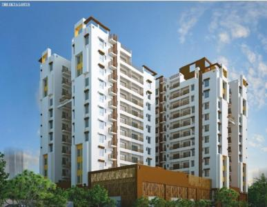 Gallery Cover Image of 1110 Sq.ft 2 BHK Apartment for buy in The Ektaa Lotus, Tangra for 6771000