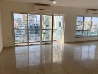 Gallery Cover Image of 2500 Sq.ft 4 BHK Apartment for rent in Bandra West for 250000