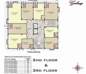 Gallery Cover Image of 1181 Sq.ft 2 BHK Apartment for buy in Gariahat for 12400000