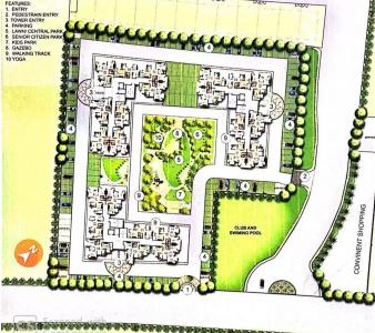 Gallery Cover Image of 1125 Sq.ft 3 BHK Apartment for buy in ORO Elements, Gaurabagh for 4067000