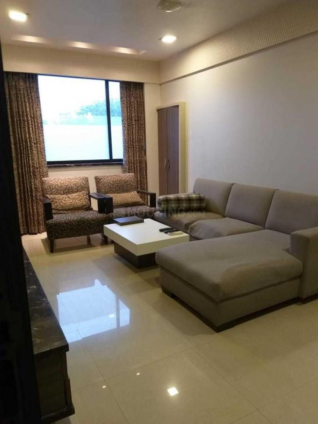 Living Room Image of 650 Sq.ft 1 BHK Apartment for rent in Worli for 70000