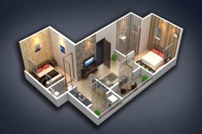 Gallery Cover Image of 702 Sq.ft 2 BHK Apartment for buy in Impulse Arena, Lohegaon for 3650000