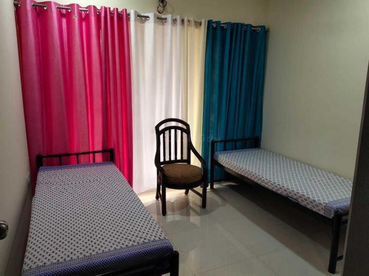 घनसोली में शिवम पीजी में बेडरूम की तस्वीर