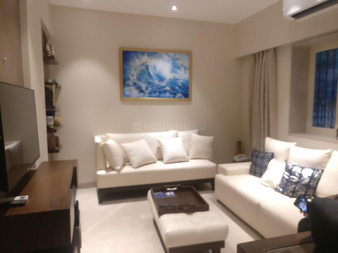 Living Room Image of 850 Sq.ft 1 BHK Apartment for rent in Bandra West for 65000