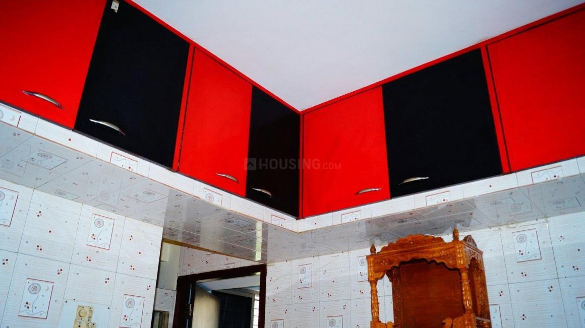 Kitchen Image of 555 Sq.ft 1 BHK Apartment for rent in Kalyan West for 8500