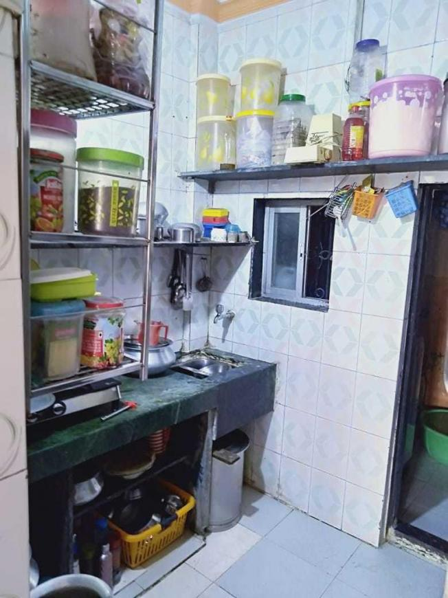 Kitchen Image of 500 Sq.ft 2 BHK Independent House for buy in Kharghar for 4600000