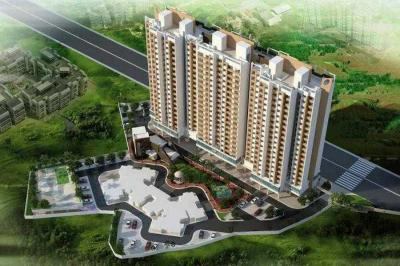 Gallery Cover Image of 680 Sq.ft 1 BHK Apartment for buy in Dynamic Crest Phase I Rimo Everest, Khidkali for 3500000
