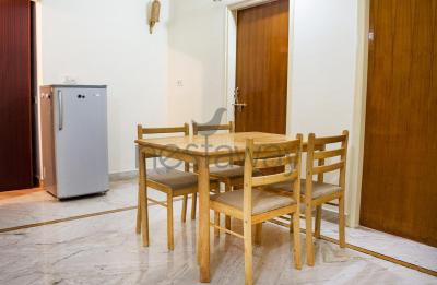Dining Room Image of Usha Kiran Apartments in Marathahalli
