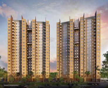 Gallery Cover Image of 1291 Sq.ft 3 BHK Apartment for buy in Shapoorji Pallonji Joyville, Kona for 6200000