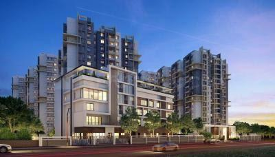 Gallery Cover Image of 1265 Sq.ft 2 BHK Apartment for buy in Kalpataru Residency , Erragadda for 10000000