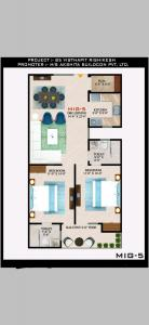 Gallery Cover Image of 1200 Sq.ft 2 BHK Apartment for buy in Virbhadra for 3800000