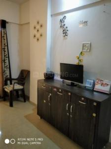 Gallery Cover Image of 700 Sq.ft 1 RK Apartment for rent in Sharda Green Wood, Kasarvadavali, Thane West for 14000