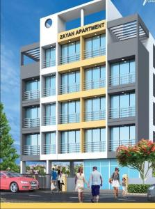 Gallery Cover Image of 645 Sq.ft 1 BHK Apartment for buy in Ashiyana Zayan Apartment, Taloja for 3050000