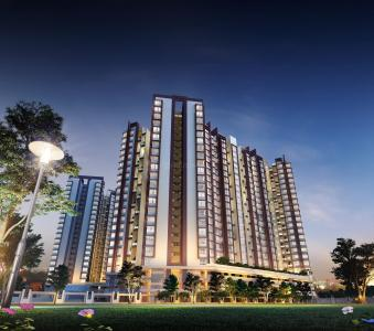 Gallery Cover Image of 1411 Sq.ft 3 BHK Apartment for buy in Wakad for 10800000
