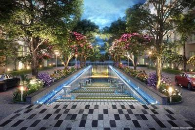 Gallery Cover Image of 841 Sq.ft 2 BHK Apartment for buy in Godrej Palm Retreat, Sector 150 for 8400000