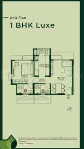 Gallery Cover Image of 575 Sq.ft 1 BHK Apartment for buy in Godrej Urban Park, Powai for 12500000