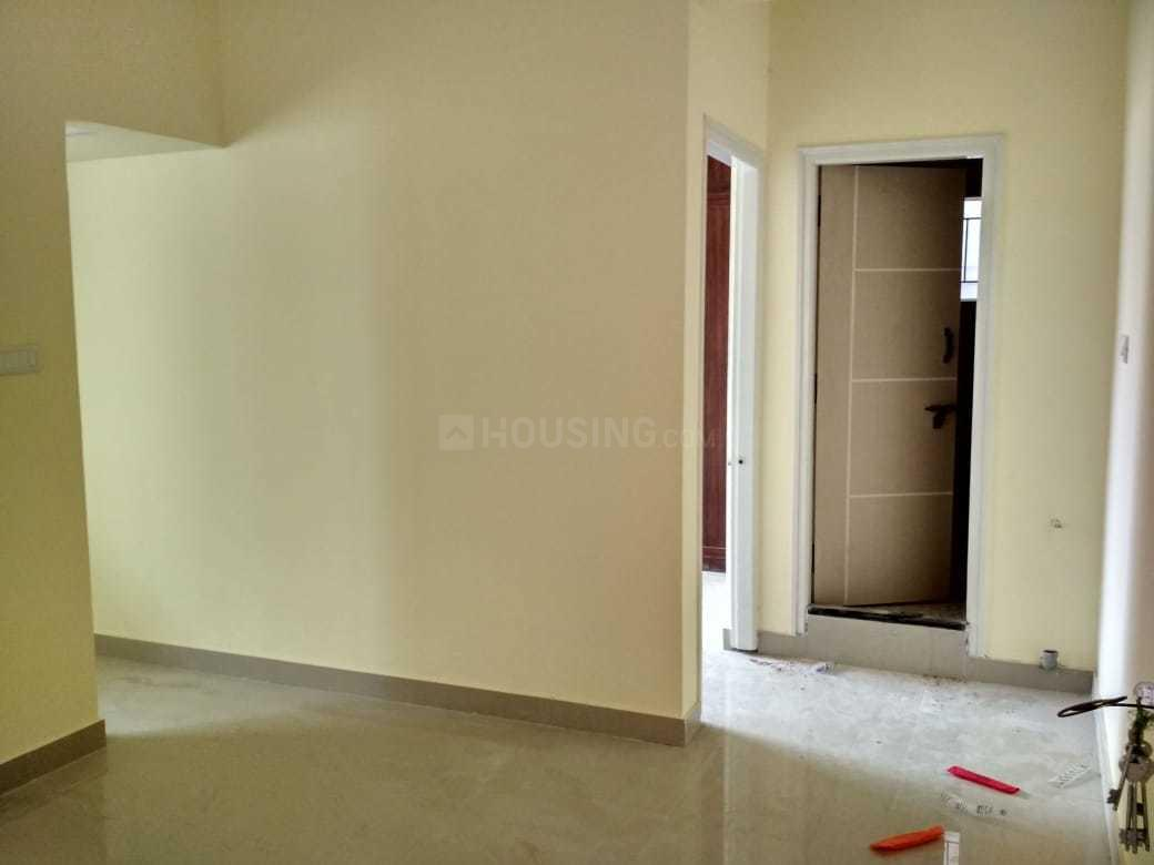 Living Room Image of 665 Sq.ft 1 BHK Apartment for rent in Kasturi Nagar for 11500