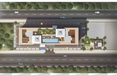 Gallery Cover Image of 2100 Sq.ft 4 BHK Apartment for buy in Kundan Presidia, Kondhwa for 18900000