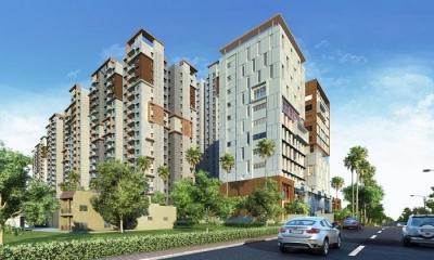 Gallery Cover Image of 1200 Sq.ft 2 BHK Apartment for buy in Salarpuria Sattva Magnus, Toli Chowki for 9575600