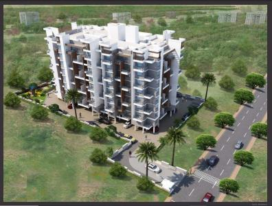 Gallery Cover Image of 705 Sq.ft 1 BHK Apartment for buy in Konark Grand Casa, Thergaon for 4500000