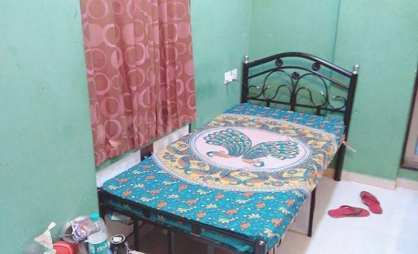 भांडूप वेस्ट में पीजी भांडूप में बेडरूम की तस्वीर
