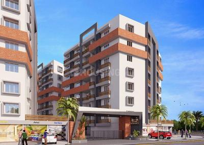 Gallery Cover Image of 1377 Sq.ft 3 BHK Apartment for buy in Mangalagauri Mangla Gauri Residency, Nava Vadaj for 5355000