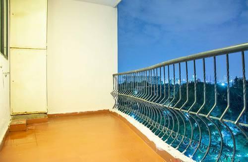 Balcony Image of F707 Platinum City in Malleswaram
