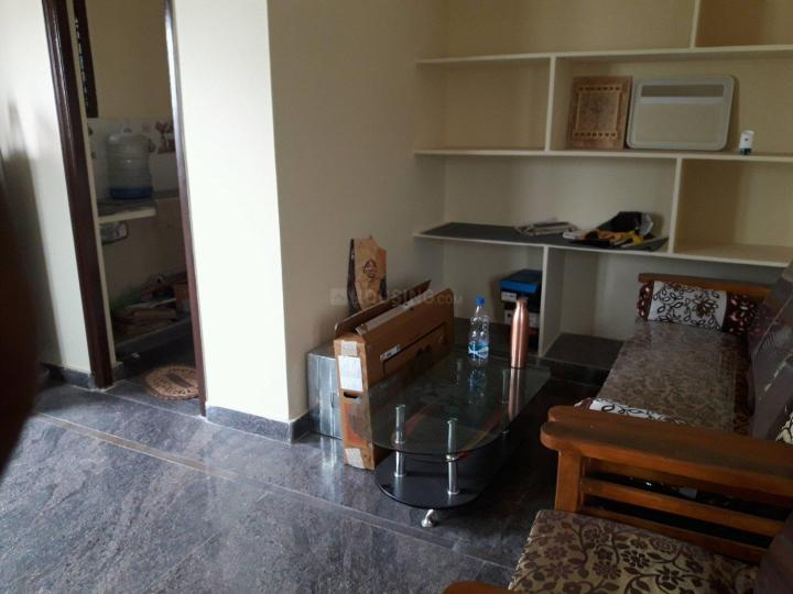 Living Room Image of 600 Sq.ft 1 BHK Independent House for rent in Hyder Nagar for 9500