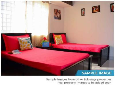 Bedroom Image of Zolo Stardust in Hafeezpet