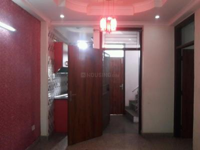 Gallery Cover Image of 450 Sq.ft 1 BHK Independent Floor for rent in Khirki Extension for 13000