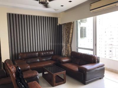 Gallery Cover Image of 2095 Sq.ft 3 BHK Apartment for rent in Unitech Uniworld City, New Town for 45000