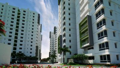 Gallery Cover Image of 1270 Sq.ft 2 BHK Apartment for buy in Ramky One Galaxia Phase II, Nallagandla for 8200000