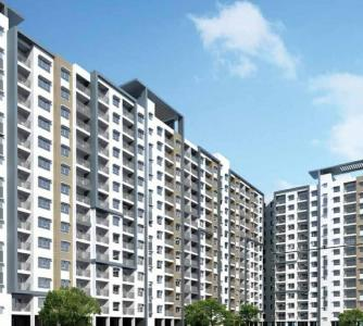 Gallery Cover Image of 1230 Sq.ft 2 BHK Apartment for buy in Adarsh Palm Retreat Mayberry Phase 1, Bellandur for 9450000