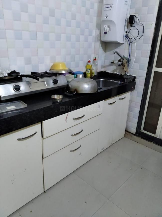 Kitchen Image of 545 Sq.ft 1 BHK Independent House for rent in Vasai West for 6500
