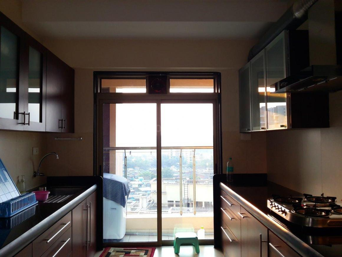 Kitchen Image of 1607 Sq.ft 3 BHK Apartment for rent in Govandi for 78000