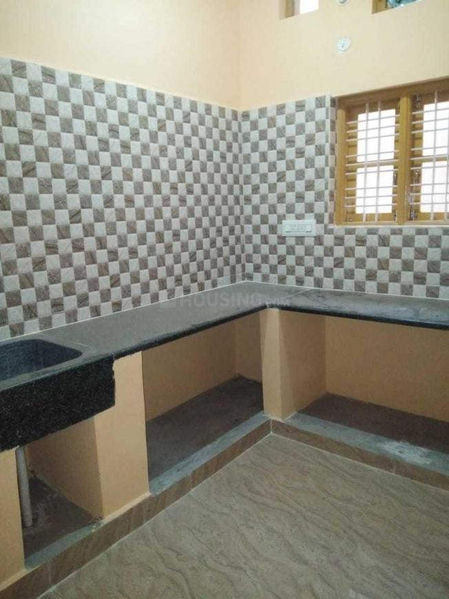 Kitchen Image of 1200 Sq.ft 2 BHK Independent Floor for rent in Amrutahalli for 15000