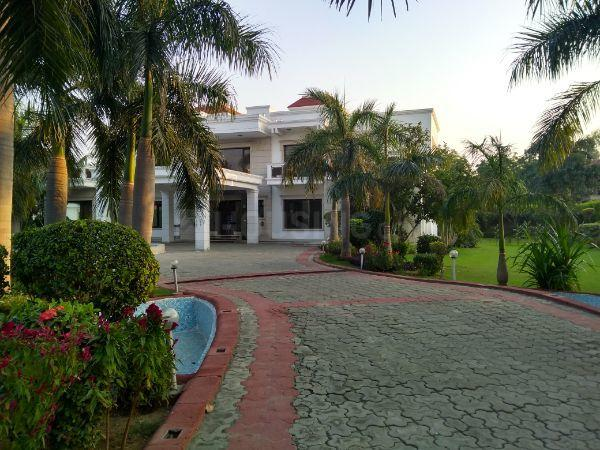 Garden Area Image of 11000 Sq.ft 5 BHK Independent House for rent in DLF Farms for 450000