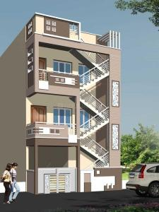 Gallery Cover Image of 800 Sq.ft 1 BHK Independent House for rent in Vidyaranyapura for 7000