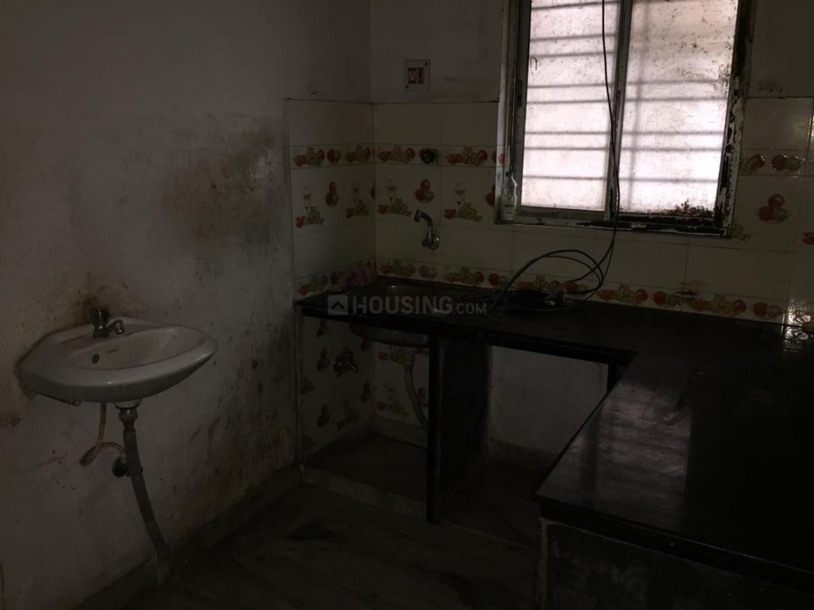 Kitchen Image of 850 Sq.ft 2 BHK Independent House for rent in Garia for 6500