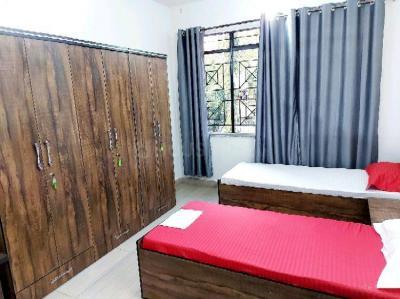 विमान नगर में फ़ेम पीजी के बेडरूम की तस्वीर