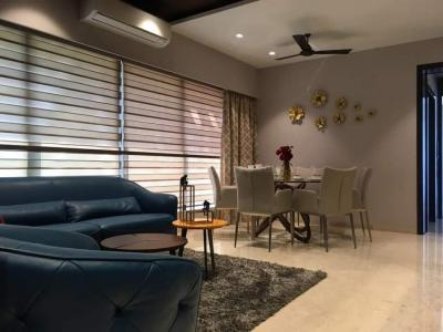 Gallery Cover Image of 1550 Sq.ft 3 BHK Apartment for rent in Dheeraj Celestial, Khar West for 170000