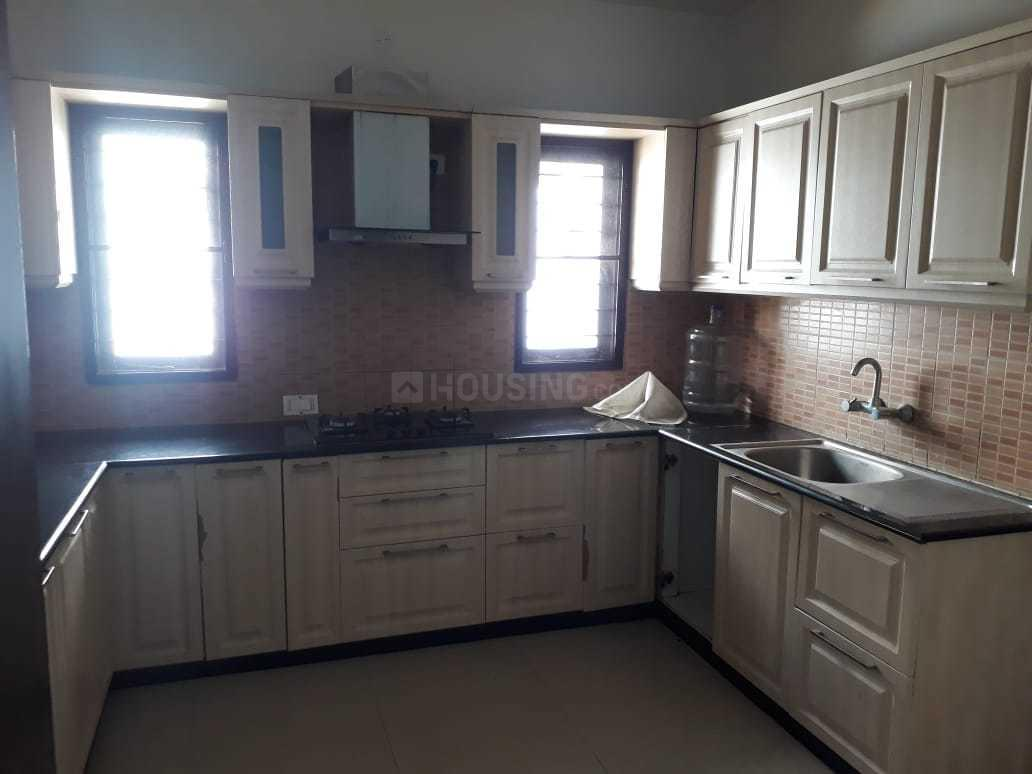 Kitchen Image of 1600 Sq.ft 3 BHK Apartment for rent in Attiguppe for 40000