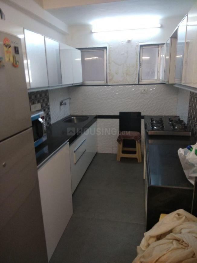Kitchen Image of 600 Sq.ft 1 BHK Apartment for rent in Marine Lines for 75000