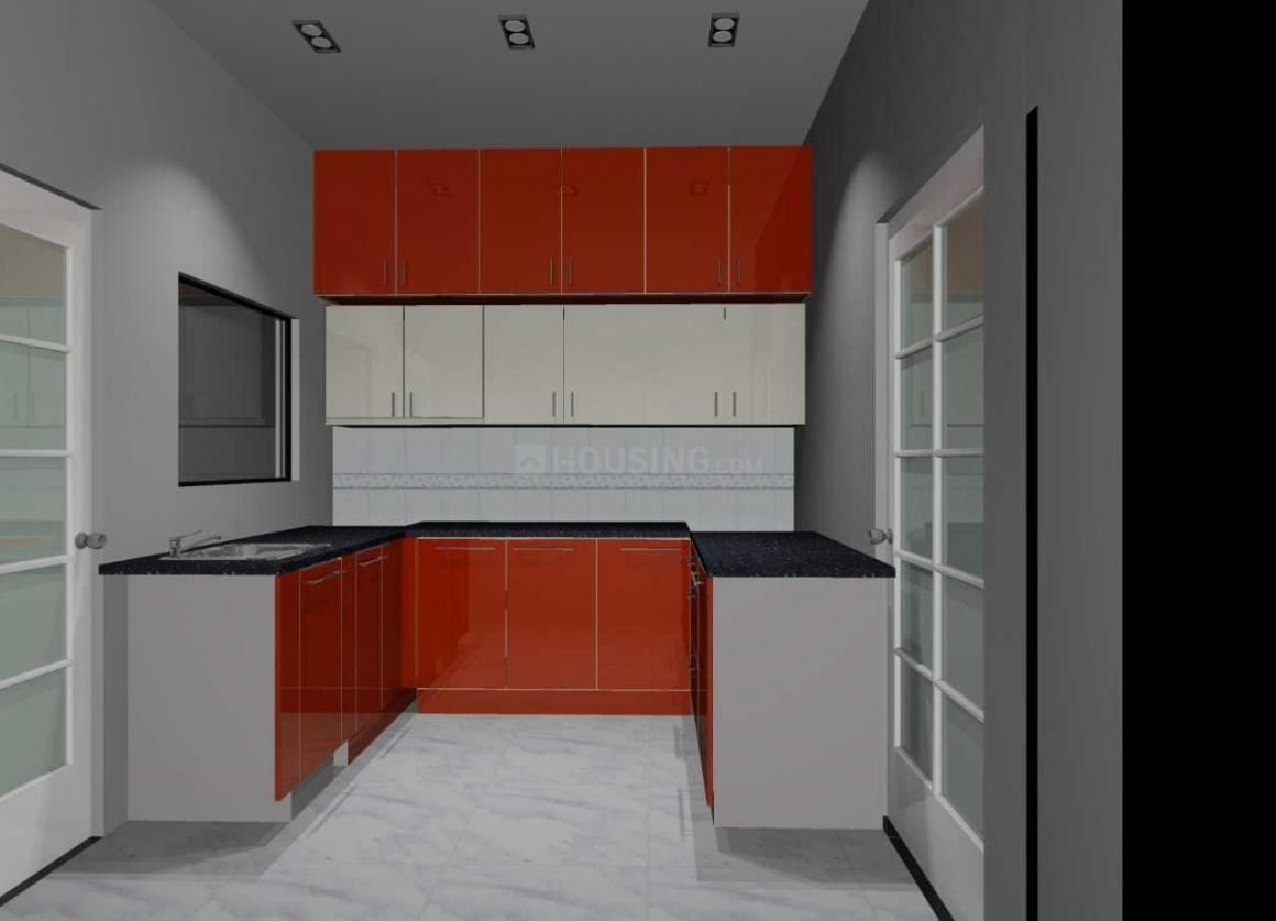 Kitchen Image of 800 Sq.ft 1 BHK Independent House for rent in J P Nagar 7th Phase for 13000