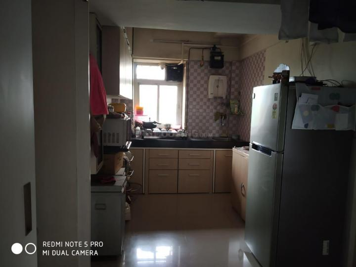 Kitchen Image of 1000 Sq.ft 2 BHK Apartment for rent in Nerul for 28000