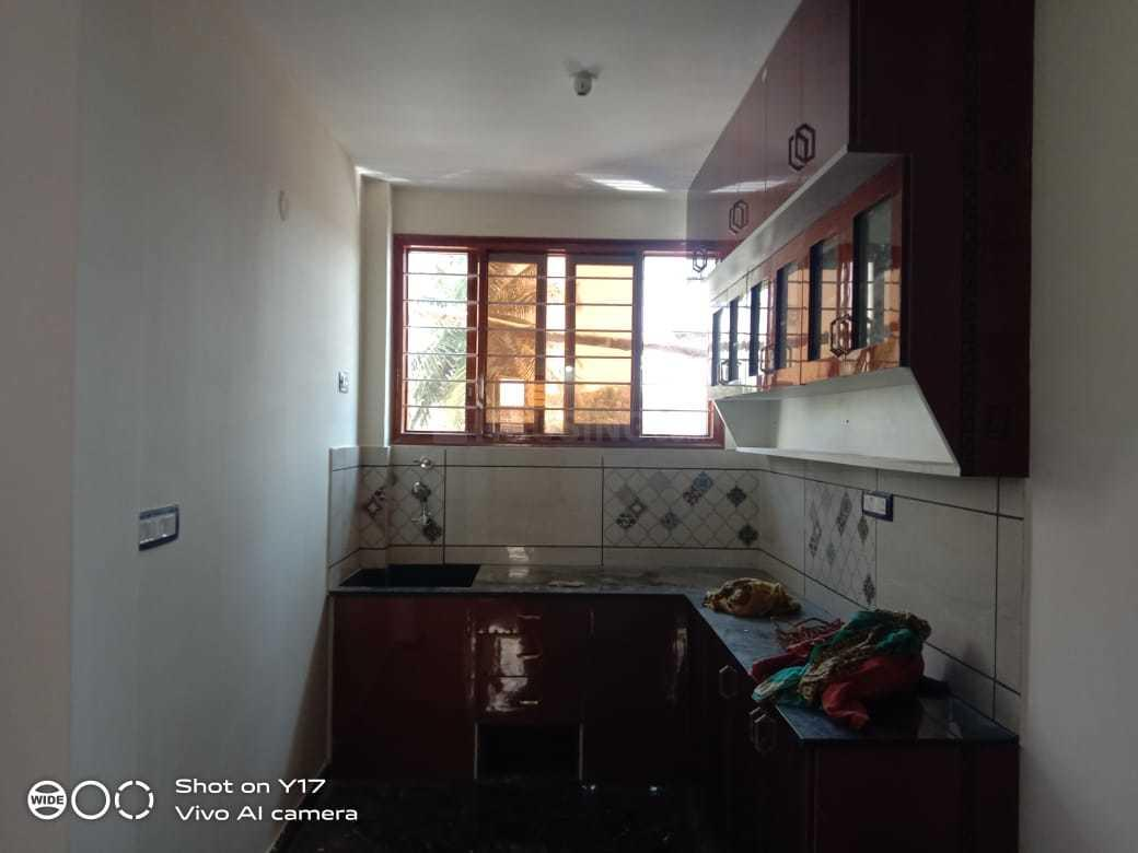 Kitchen Image of 1100 Sq.ft 2 BHK Independent Floor for rent in Nagarbhavi for 20000