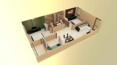Gallery Cover Image of 980 Sq.ft 2 BHK Apartment for buy in Bhankrota for 2720000